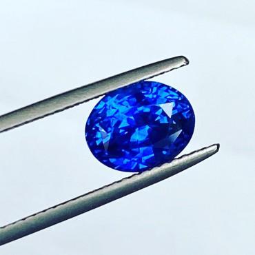 Blue Sapphire 3.58 Ct.