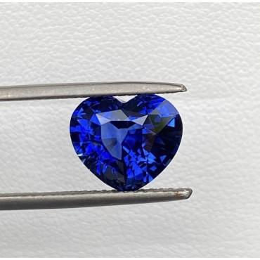 Blue sapphire 4.01 Ct.